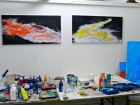 Das Atelier als Begegnungsort für Kunst-